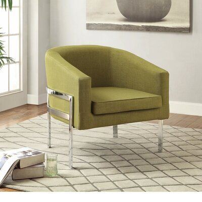 Islas Well Groomed Armchair Upholstery: Green