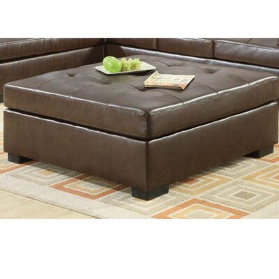Germany Ultra Modern Cocktail Ottoman Upholstry: Brown