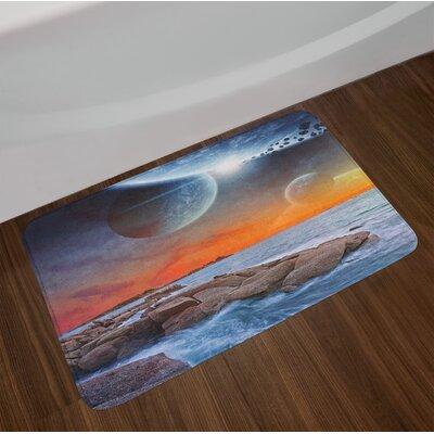 Galaxy Bath Rug
