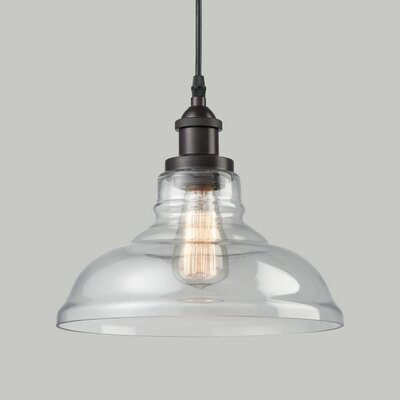 Engler 1-Light Inverted Pendant Finish: Oil Rubbed Bronze