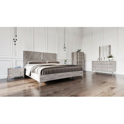 Labombard Modern 5 Piece Platform Bedroom Set Bed Size: Queen