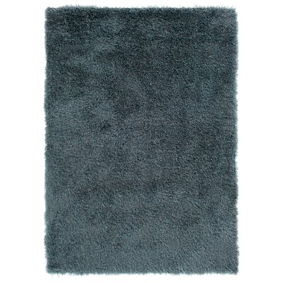 Ramhit Shag Blue/Silver Area Rug Rug Size: Rectangle 76 x 96