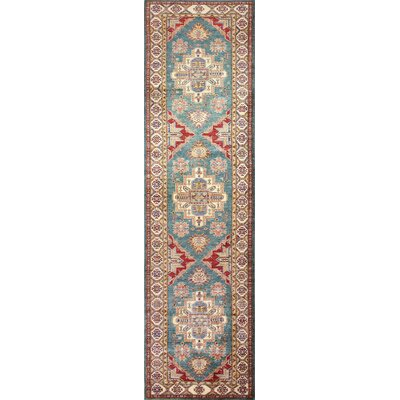 One-of-a-Kind Harrod Hand-Knotted Wool Brown Area Rug