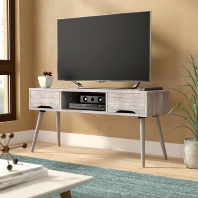 Verdi Fiberboard 47.4 TV Stand Color: Gray