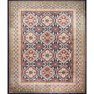 One-of-a-Kind Mclellan Hand-Knotted Wool Beige Area Rug