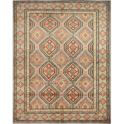 One-of-a-Kind Hartland Hand-Knotted Wool Gray Area Rug