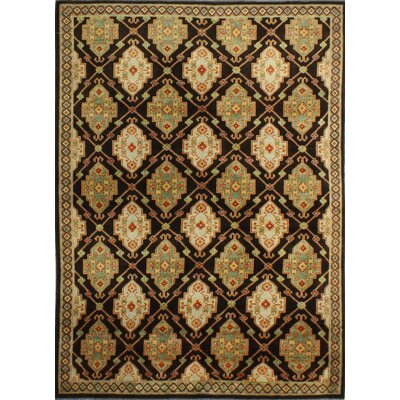 One-of-a-Kind Hartland Hand-Knotted Wool Brown Area Rug