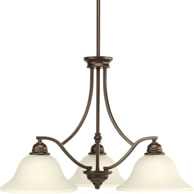 Abdou 3-Light Chandelier Finish: Antique Bronze