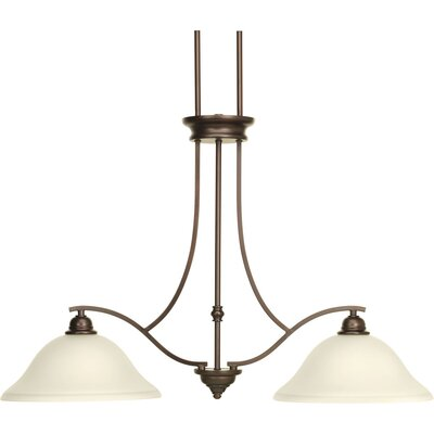 Abdou 2-Light Kitchen Island Pendant Finish: Antique Bronze