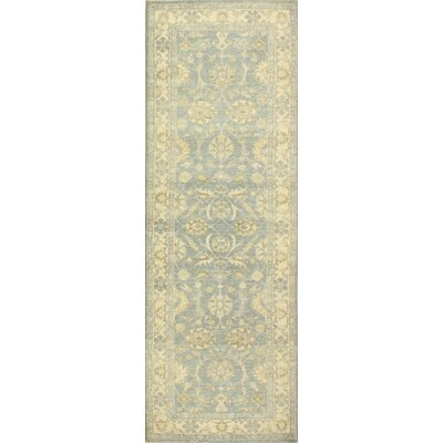One-of-a-Kind Miliano Hand-Knotted Wool Gold Area Rug