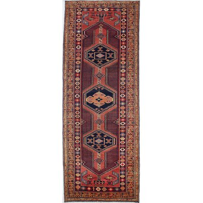 One-of-a-Kind Mclellan Hand-Knotted Wool Rose Area Rug