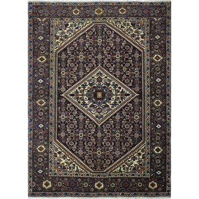 One-of-a-Kind Eugenio Hand-Knotted Wool Dark Brown Area Rug
