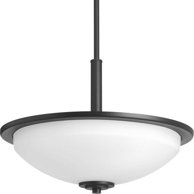 Knouse 3-Light Inverted Pendant Finish: Black