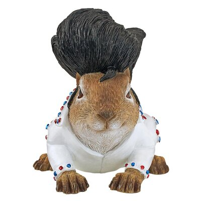 Elmer the Rock and Roll Squirrel Garden Statue QM17042