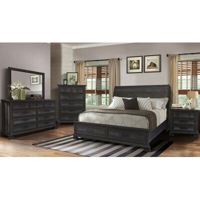 Upney Panel 5 Piece Bedroom Set Bed Size: King