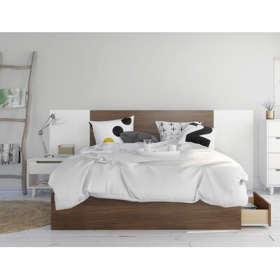 Mckamey Platform 4 Piece Bedroom Set Size: Queen