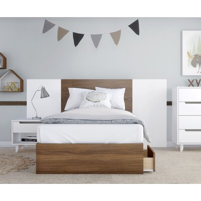 Mckamey Platform 4 Piece Bedroom Set Size: Twin