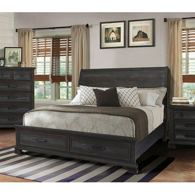 Upney Panel Bed Size: King