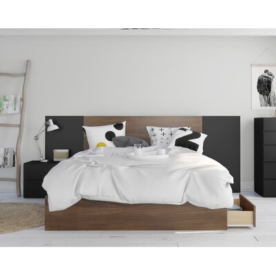 Mckean Platform 4 Piece Bedroom Set Size: Queen
