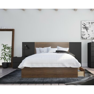 Mckean Platform 4 Piece Bedroom Set Size: Full