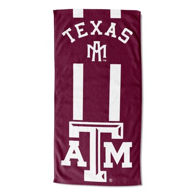 NCAA Zone Read Beach Towel NCAA Team: Texas A&M University
