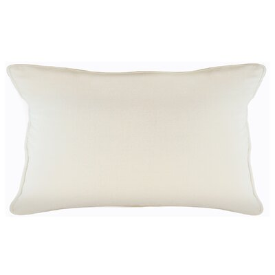 Brownridge Cotton Sham Size: King, Color: Ivory