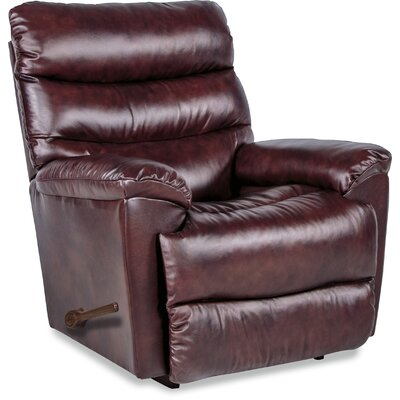 Marco Recliner Upholstery: Burgundy, Reclining Type: Manual