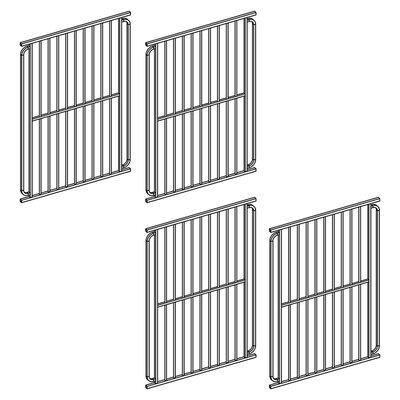 Heavy Duty Modular Dog Pen Size: 42 H x 28.5 W x 1 D