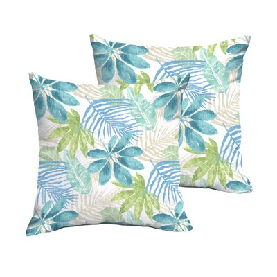 Darcio Indoor/Outdoor Throw Pillow Size: 18 x 18