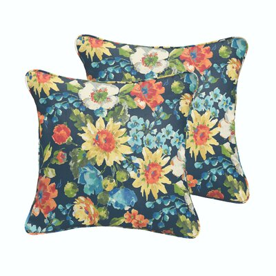 Reagle Indoor/Outdoor Throw Pillow Size: 18