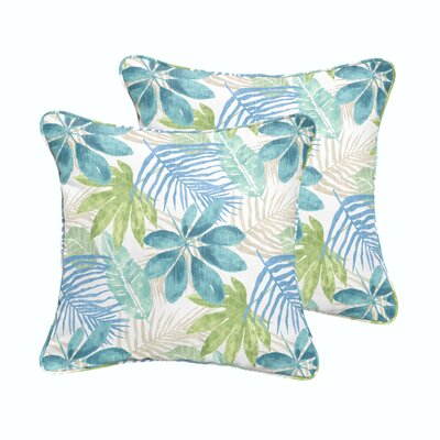 Darcio Indoor/Outdoor Throw Pillow Size: 18