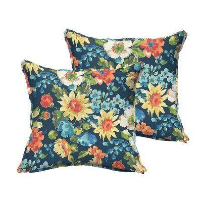 Reagle Indoor/Outdoor Throw Pillow Size: 22