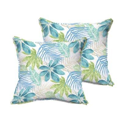 Darcio Indoor/Outdoor Throw Pillow Size: 22 x 22