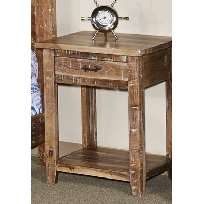 Walczak 1 Drawer Nightstand