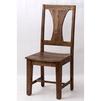 Walburg Solid Wood Dining Chair