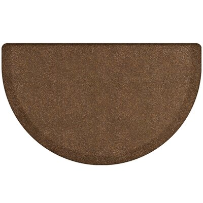 Kimberlin Smooth Kitchen Mat Color: Granite Copper