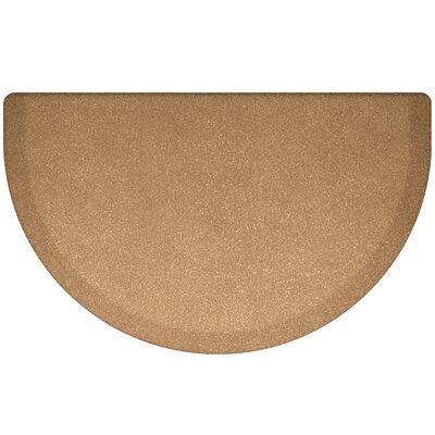 Kimberlin Smooth Kitchen Mat Color: Granite Gold
