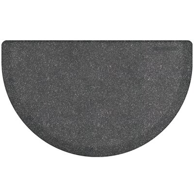 Kimberlin Smooth Kitchen Mat Color: Granite Steel