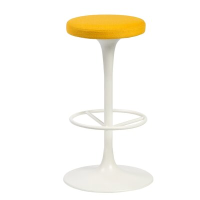Paola Swivel Bar Stool (Set of 50) Upholstery: Camira Wool
