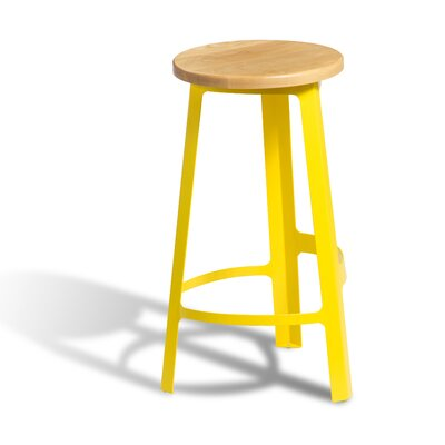 Infiniti Counter Bar Stool (Set of 50) Upholstery: Polyurethane-Polyester Microfiber (PPM)