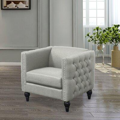 Iser Upholstered Armchair Upholstery: Beige