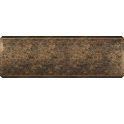 Estates Linen Kitchen Mat Mat Size: Rectangle 2 x 6, Color: Bronze