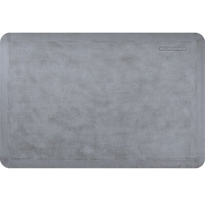 Estates Linen Kitchen Mat Mat Size: Rectangle 2' x 3', Color: Lagoon