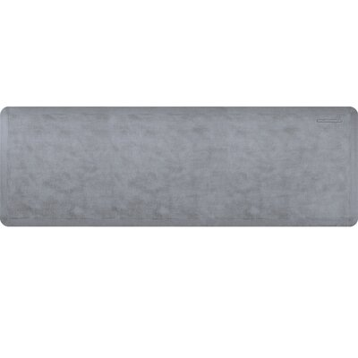Estates Linen Kitchen Mat Mat Size: Rectangle 2 x 6, Color: Lagoon
