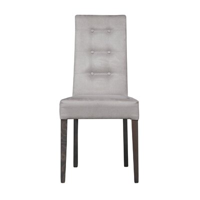 Wulin Upholstered Dining Chair (Set of 2) Color: Gray