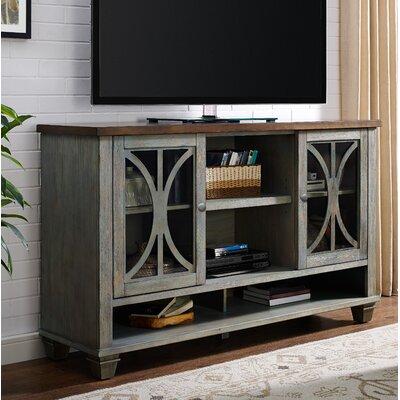 Peachstone 60 TV Stand Color: Rich Denim Blue