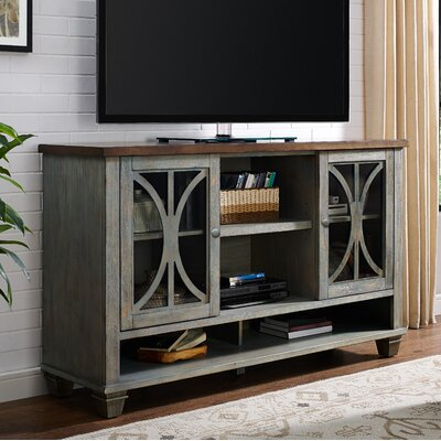 Peachstone 60 TV Stand Color: Weathered Green