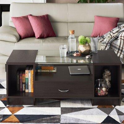Jeffress Coffee Table with Storage