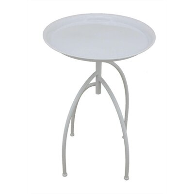 Goodner Elegantly Styled Metal End Table