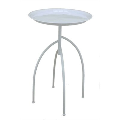 Goodlow Downrightly Elegant Metal End Table